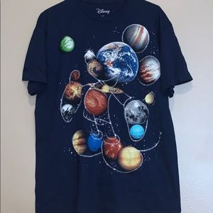 Disney Mickey Mouse galaxy
